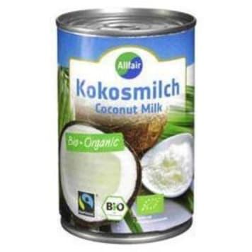 Mleko kokosowe - Allfair. Zrównoważony aromat i doskonały smak.