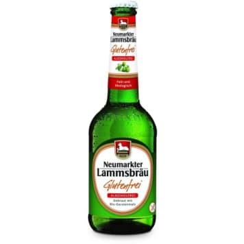 Piwo bezglutenowe - Neumarkter Lammsbrau.Z ekologiczych upraw, nie zawiera alkoholu ani glutenu.