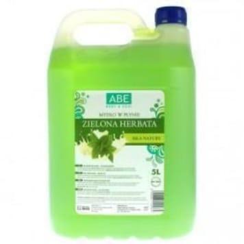 Mydło w płynie - Abe. Czyści i chroni skórę dłoni, zostawiając na nich zapach zielonej herbaty.