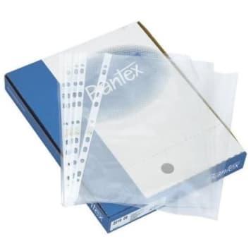 Krystaliczne koszulki na dokumenty - Bantex. Wygodne przechowywanie dokumentów jest możliwe.
