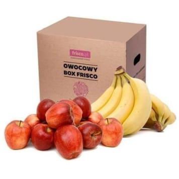 FRISCO FRESH Owocowy Box (banany i jabłka) 10kg