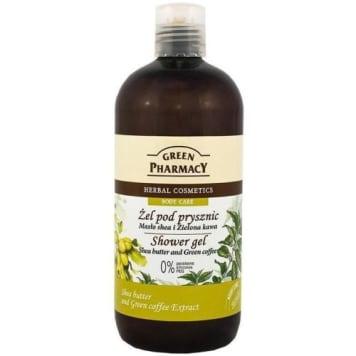 Żel pod prysznic - Green Pharmacy. Zapewnia nawilżenie skóry oraz odprężenie podczas kąpieli.