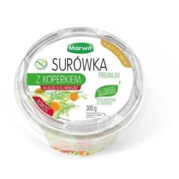 MARWIT Surówka premium z koperkiem na bazie sosu winegret 300g