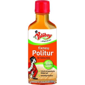 Środek do czyszczenia i pielęgnacji jasnych mebli - Poliboy. Niezbędny w każdym domu.