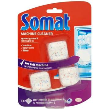 SOMAT Machine Cleaner Kapsułki proszkowe do czyszczenia zmywarek 3x20g 1szt