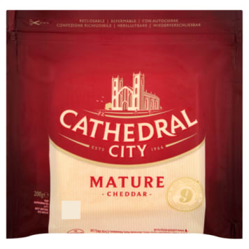 CATHEDRAL CITY Ser Cheddar Mature - kawałek, bez cukru 200g