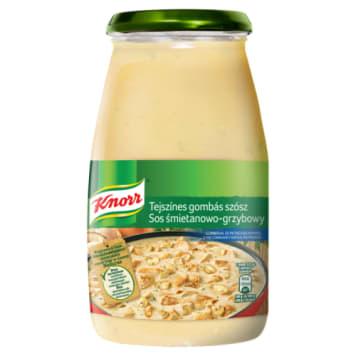Sos do potraw śmietanowo-grzybowy - Knorr