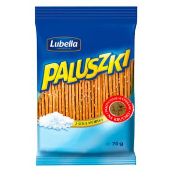 Lubella – Chrupiące paluszki z solą 70 g. Świetna przekąska na każdą okazję.