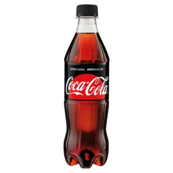Coca-Cola Zero. Napój gazowany, 500 ml. Jest pozbawiony kalorii.