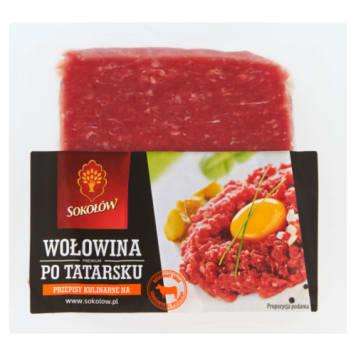 Wołowina po tatarsku - tatar - SOKOŁÓW