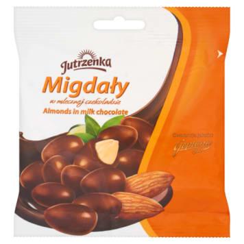 Migdały w czekoladzie mlecznej - Jutrzenka. Źródło energii na każdy dzień.