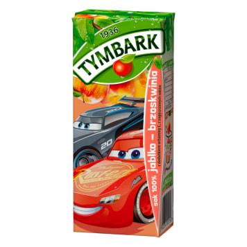 Sok jabłkowo-brzoskwiniowy – Tymbark to wyśmienity smakiem 100% sok owocowy.