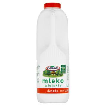 Mleko wiejskie świeże 3,2%, delikatnie pasteryzowane - Piątnica