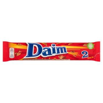 Baton czekoladowy - Daim. Doskonała przekąska dla dzieci i dla dorosłych.