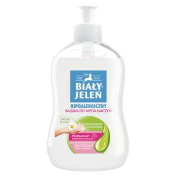 Biały Jeleń - Hipoalergiczny balsam do mycia naczyń. Skutecznie usuwa zabrudzenia.