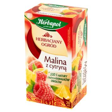Herbata malina z cytryną Herbaciany Ogród - Herbapol