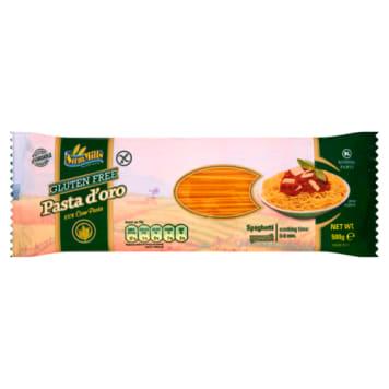 Makaron spaghetti kukurydziany - Sam Mills to bogate źródło błonnika. Nie zawiera glutenu.
