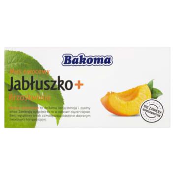 Bakoma - Mus owocowy jabluszko i brzoskwinia. Wyborny deser o orzeźwiającym smaku.