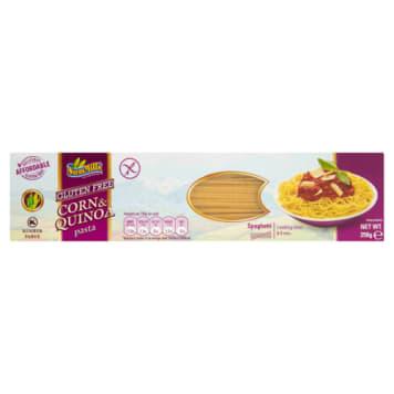 Makaron bezglutenowy spaghetti – Sam Mills to doskonały makaron kukurydziany z komosą ryżową