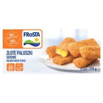 Paluszki serowe mrożone - Frosta. Szybk i sposób na smaczny obiad.