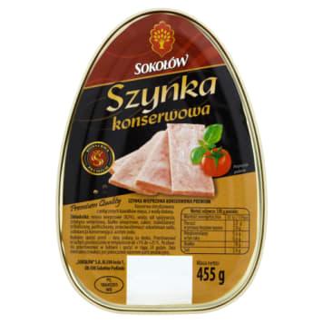 Sokołów - Szynka konserwowa premium. Szynanka najwyższej jakości.