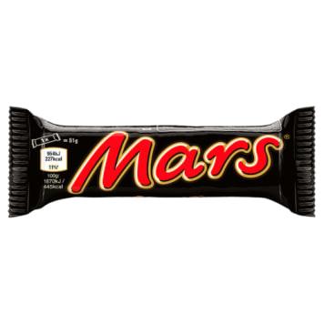 Baton z nadzieniem nugatowym i karmelem 48g - Mars