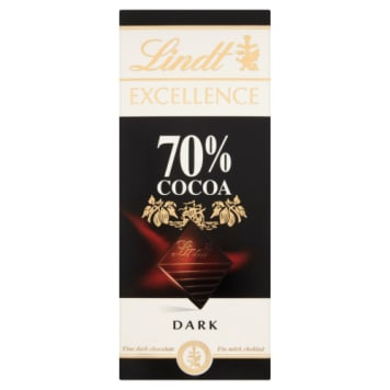 Czekolada 70% - Lindt Excellence