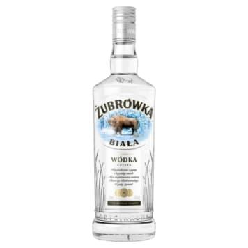 Biała wódka - Żubrówka. Wyrazisty smak i aromat.
