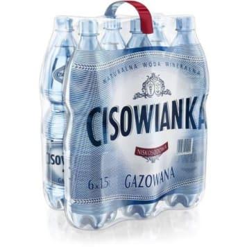 CISOWIANKA Naturalna woda mineralna gazowana 9l