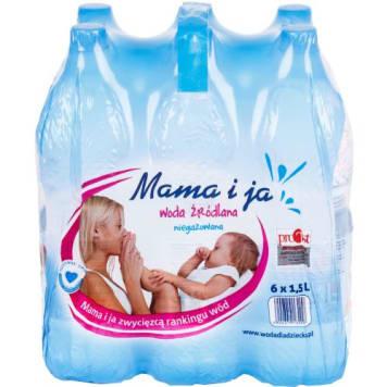 Woda źródlana niegazowana - Mam i Ja