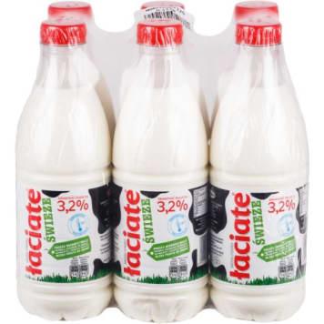ŁACIATE Mleko 3,2% w butelce (świeże) 6l