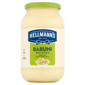 Majonez Babuni, 650 ml – Hellmanns. Łagodny w smaku o wyjątkowej, kremowej konsystencji.
