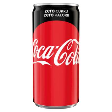 COCA-COLA ZERO Napój gazowany 200ml