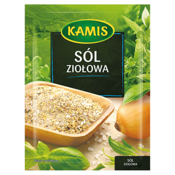 Sól ziołowa 35g - Kamis