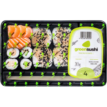 GREEN SUSHI Zestaw sushi nr 4 265g