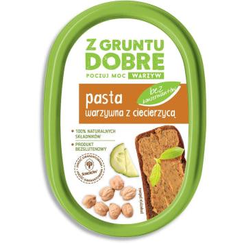 Z GRUNTU DOBRE Pasta warzywna z ciecierzycą 190g