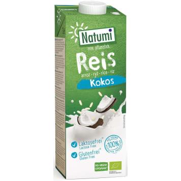 NATUMI Napój Ryżowo-Kokosowy  Bezglutenowy BIO 1l