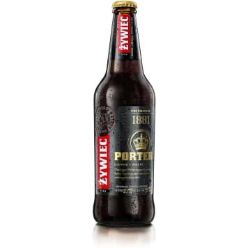 Piwo - Żywiec Porter. Mocne, ciemne piwo z kawowo-karmelową nutą.