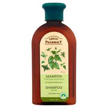 Pokrzywowy szampon do włosów 350 ml - Green Pharmacy. Zbiór ziołowych darów Matki Natury.