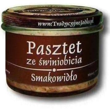 TRADYCYJNE JADŁO Pasztet ze świniobicia Smakowidło bezglutenowy 160g