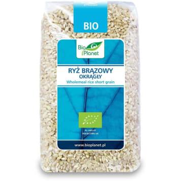 Ryż pełnoziarnisty BIO 500g - BIO PLANET. Smak i zdrowie w jeden potrawie. Produkt ekologiczny.