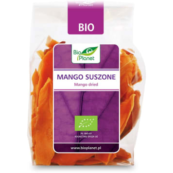 Mango suszone, 100 g - Bio Planet