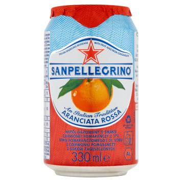 SAN PELLEGRINO Aranciata Rossa Napój gazowany o smaku czerwonej pomarańczy 330ml
