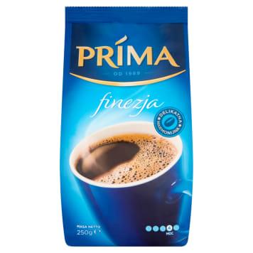 Kawa mielona Finezja - Cafe Prima. Niepowtarzalny smak palonych ziaren kawy.