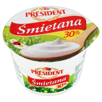 Śmietana 30% - President