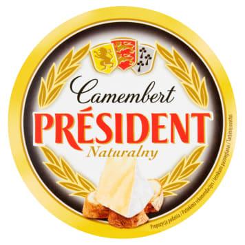 Ser Camembert naturalny - President