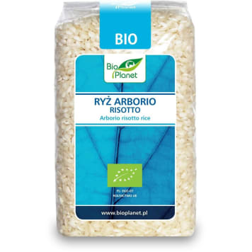 BIO PLANET Ryż Arborio do risotto BIO 500g