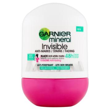 GARNIER Mineral Antyperspirant w kulce Invisible 50ml