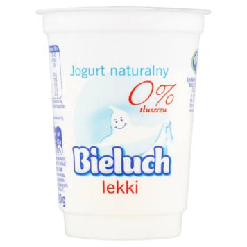 Lekki jogurt naturalny 0% - Bieluch. Zawiera dużo wapnia i wzmacnia florę bakteryjną organizmu.