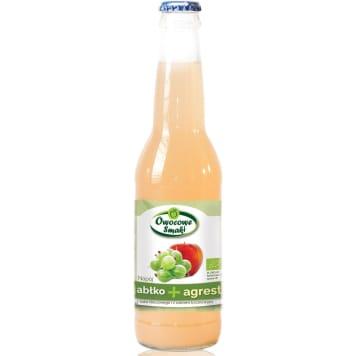 Lemoniada agrestowa OWOCOWE SMAKI BIO 330ml - słodzona trzcinowym cukrem, z ekologicznych owoców.